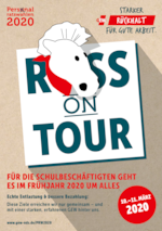 PRW 2020 – Plakat Ross on Tour (Ansicht)